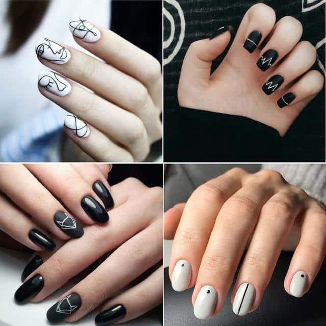 mẫu vẽ nail