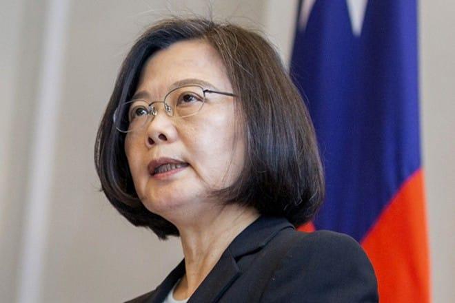 Bà Thái Anh Văn, lãnh đạo đương nhiệm tại Đài Loan