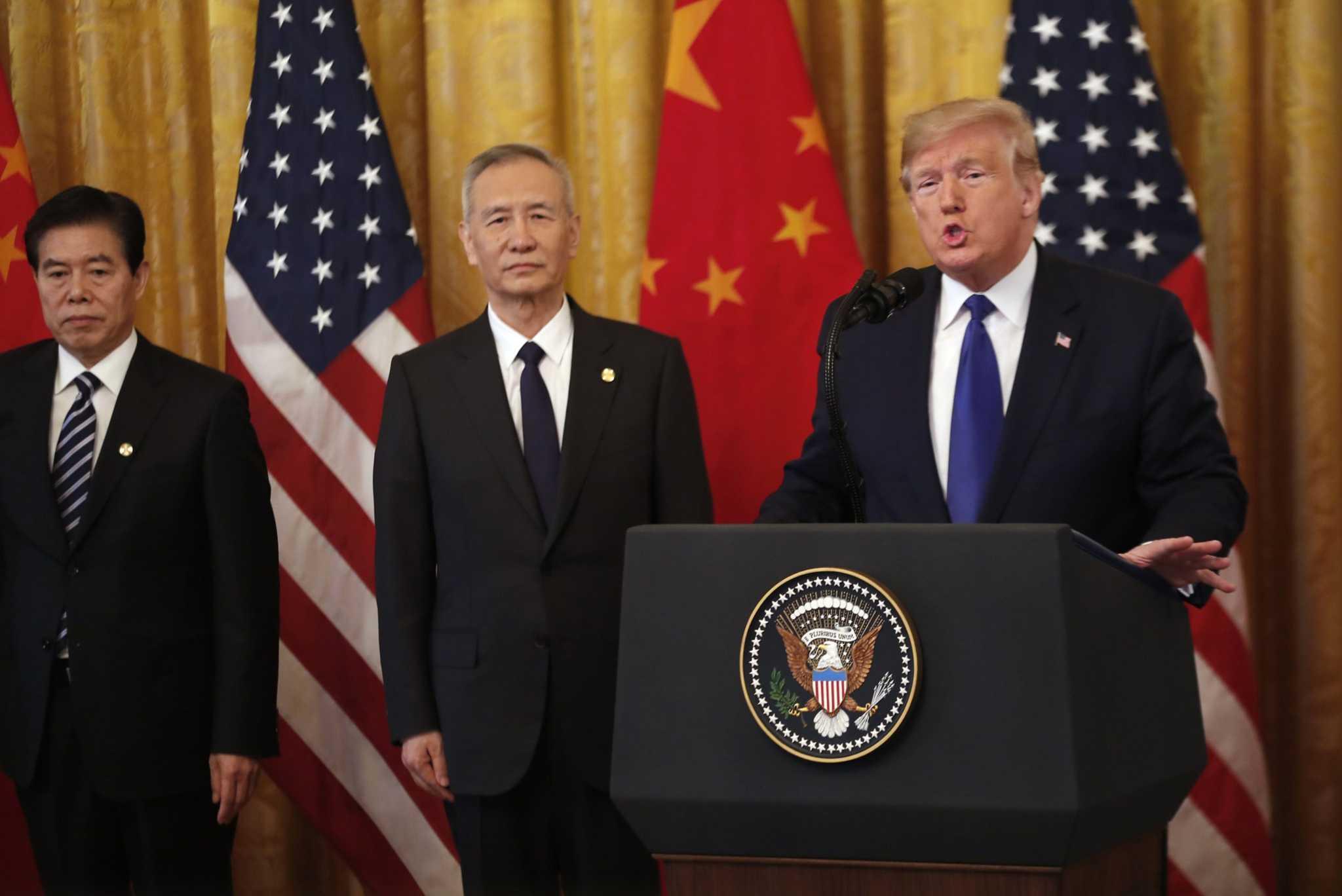 Mỹ - Trung chính thức ký thoả thuận thương mại giai đoạn 1
