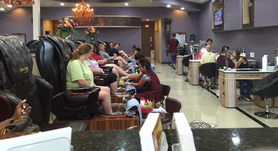 Cần tuyển thợ nail xuyên bang tại Tuscaloosa, AL-35404
