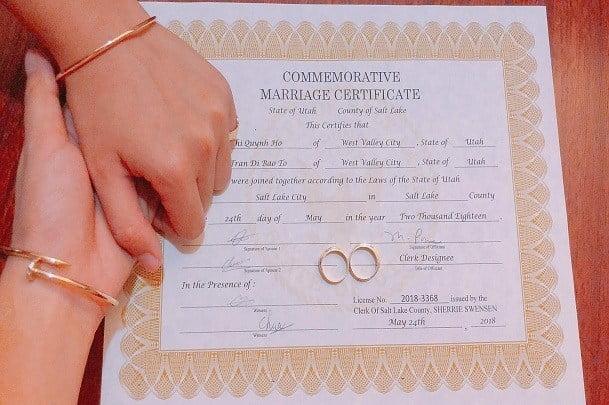 Những lưu ý khi bảo lãnh vợ/chồng để có thẻ xanh định cư Mỹ