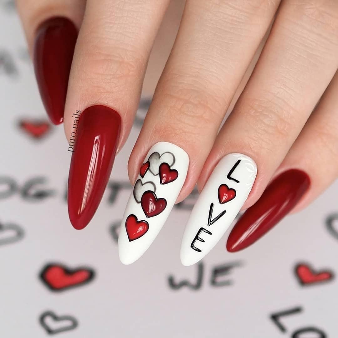 Độc và lạ với 14 mẫu móng cho ngày valentine sắp tới