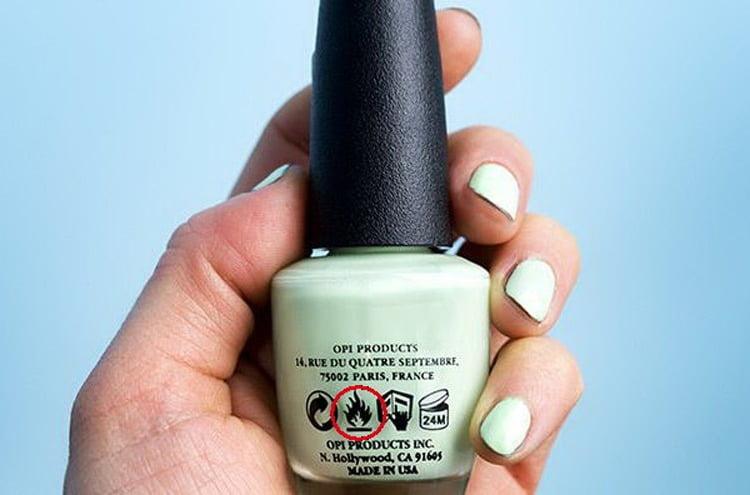 Giải mã các ký hiệu trên sản phẩm làm nail