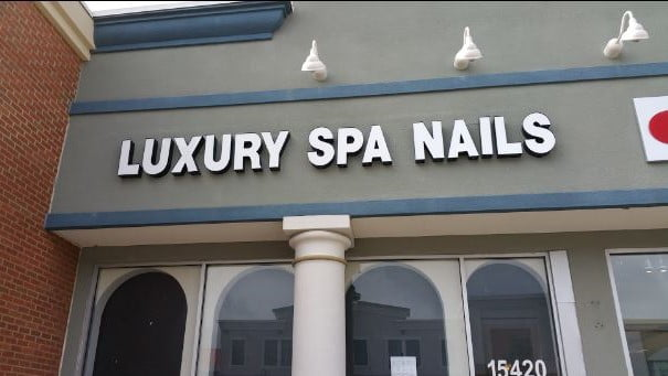 Luxury Nail spa Bowie MD tuyen tho nail