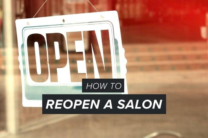 reopen a salon