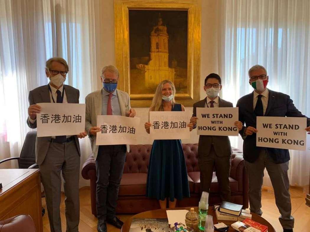 Hong Kong - Nhà hoạt động Nathan Law đột phá tại Rome