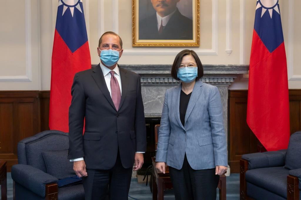 Đài Loan: chuyến thăm của Bộ trưởng Alex Azar là 01 bước thăm dò?