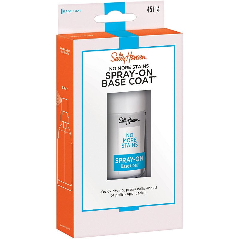 Sally Hansen No More Stains Spray On Base Coat