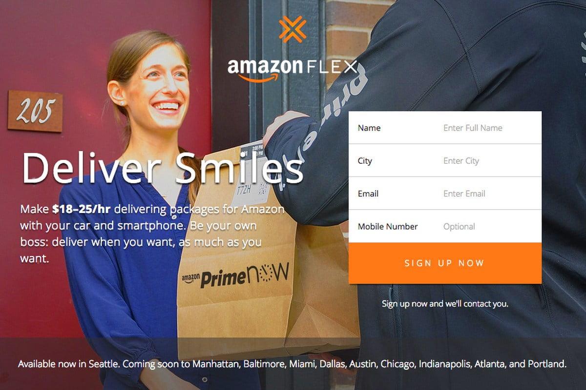 Tài xế Amazon treo điện thoại lên cây. Giàu có hay khủng hoảng?