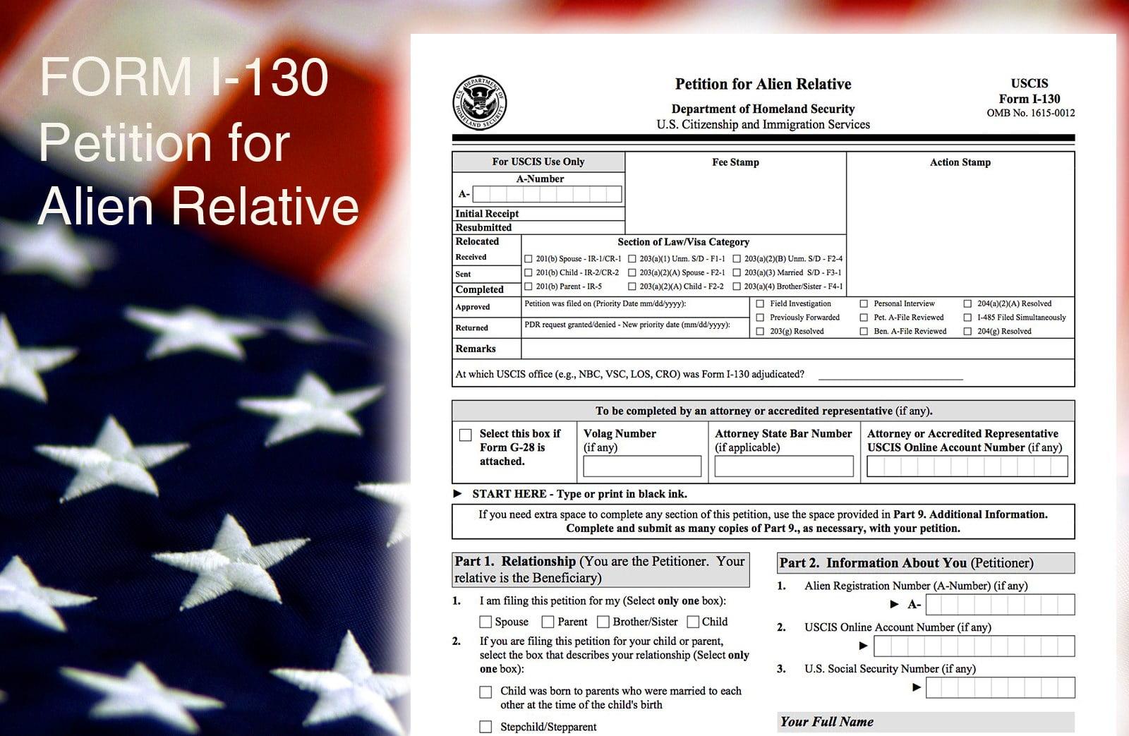 Quy trình xin Visa bảo lãnh định cư cha mẹ (F3), anh chị em (F4)