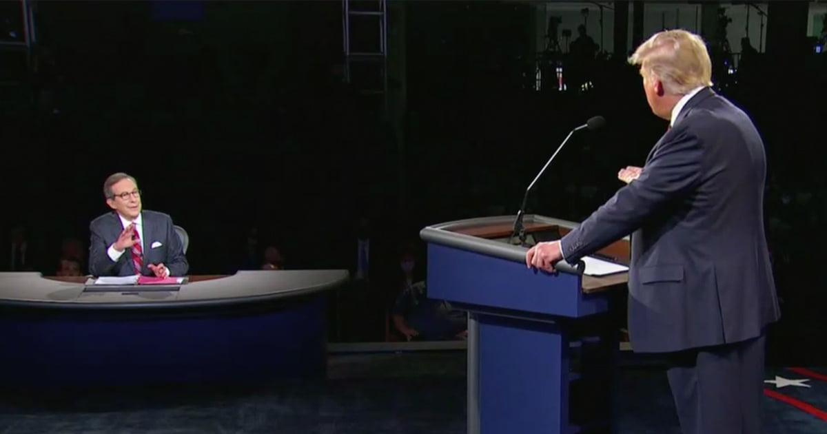 Trump thách thức Người điều hành Chris Wallace