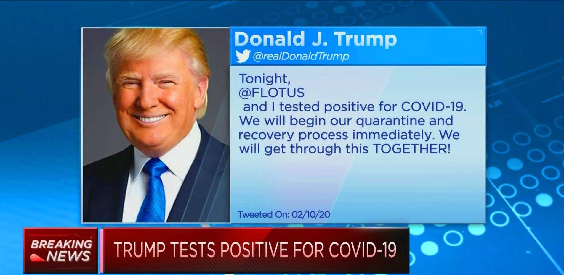 Ông Trump nhiễm Covid 19: Chuyện bình thường hay chiến thuật quá siêu của Tổng thống?