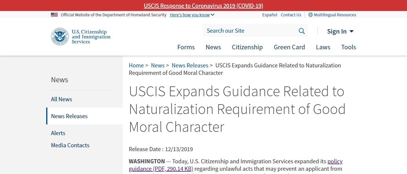 Những lý do khiến người Việt dễ bị từ chối quốc tịch Mỹ