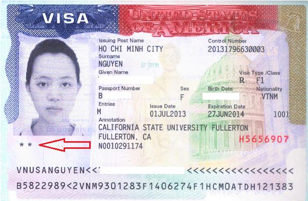 Visa Mỹ: Dấu sao 5 cánh trên visa ảnh hưởng gì đến việc nhập cảnh? Hãy lưu ý!